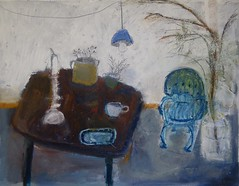 Winter herbs (sprinkling happiness) Tags: art painting interiors stilllife herbs winter snow chairs