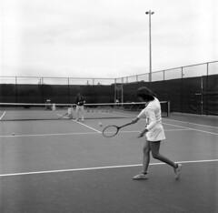 Backhand Swing (ConejoThruTheLens) Tags: conejothroughthelens tennis tenniscourt racquet ball