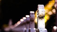 Bokeh fence (Steve-h) Tags: backlight contrajour contraluz fence crackedpaint cobwebs silk ironwork patterns design art sun sunlight sunshine shade shadows dirt dirty summer august 2015 dublin ireland europe 409vat2133 total126022135 281f0805