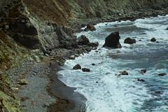 alone with the waves (helveticaneue) Tags: california roadtrip westcoast pacific pacificcoast sansimeon hearstcastle bigsur deetjens raggedpoint
