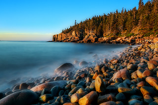 Otter Cliff at Acadia National Park