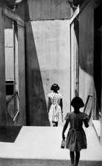 Nueva Coleccin Patrimonial: Sergio Larrn Valparaso 1950 - 1963 (Museo de Historia Natural Valparaso) Tags: amriquedusud blackandwhite child chile chileall chilientier dedos deuxpersonnes dress enfant escalier extrieur exterior fille313ans girl3to13years iconicimages iconicpicture jumeauoujumelle marcheaction matchingpair mur ombre paire pedestrian physicalmovement piton rhymevisual rime robe shadow southamerica staircase thematicpictures twins twopeople typehumainblanc valpara valparaiso viewfromrear wall whitepeople