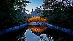 The perfect reflexion (OsytoPhoto Louis Mitch) Tags: piscine pool abandonned mansion manoire manoir decay steelwool firepaint sony sonya6000 sony6k 1650mm relfets reflexion water longexpo osytophoto osyto old outdoor outside creep abandon