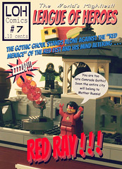 World's Mightiest: League of Heroes # 7 (jgg3210) Tags: lego leagueofheroes loh moc minifigure minifigures city new brickton gothic ghoul red fist russia communist menace subversive villain superhero supervillain comic comicbook
