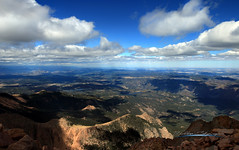 Head in the Clouds (KM Preston Photography) Tags: kmprestonphotography pikenationalforest20161002161339c pikenationalforest pikespeak colorado landscape prestonskyscapes skyscapes clouds cloudy day nature planetearth partlycloudy rockymountains sky weather elpasocounty