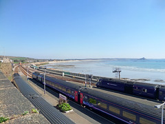 43037, 43152 & 43087 at Penzance (Marky7890) Tags: station train cornwall railway penzance hst mountsbay fgw 43152 43087 43037
