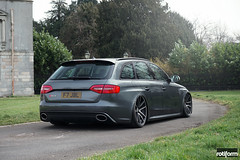 Audi RS4 - SPF (rotiformwheels) Tags: ride suspension air wheels audi spf rs4 ddt rotiform