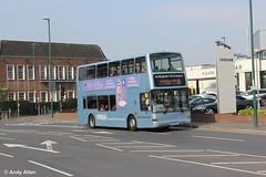 Nottingham 767 LT52WXJ (Andy4014) Tags: nottingham bus london president nottinghamcitytransport lt52wxj