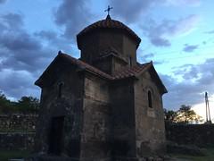 Karmravor Church / Կարմրաւոր եկեղեցի (Alexanyan) Tags: blue sky church kirche christian armenia orthodox eglise armenian reddish ashtarak chisea hayasdan karmravor եկեղեցի կարմրաւոր