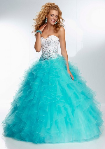 25 Tiffany Blue Quinceanera Dresses you Must Try On! - Quinceanera