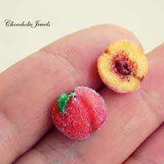 #Summerfruitstuds #peachearrings #handsculpted of #polymerclay by #chocoholicjewels! Available now on my #etsyshop #shopetsy # #fruitstuds #foodjewelry #wearablefood #peachjewelry #fauxfood #miniaturefood #summergoodness (chocoholic_jewels) Tags: by square polymerclay squareformat now available miniaturefood handsculpted fauxfood etsyshop foodjewelry summergoodness wearablefood peachearrings shopetsy iphoneography instagramapp uploaded:by=instagram peachjewelry chocoholicjewels summerfruitstuds fruitstuds