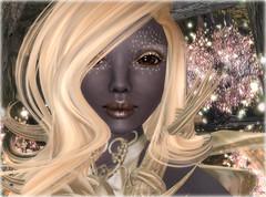 lovely Drow (Alea Lamont) Tags: black rose female hair skins skin bare avatar fantasy faire shape drow magika ndmd