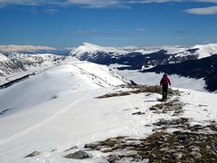 """Leaving the summit of Monte Orsello, with Monte Sirente on the horizon • <a style=""""font-size:0.8em;"""" href=""""http://www.flickr.com/photos/41849531@N04/17382824845/"""" target=""""_blank"""">View on Flickr</a>"""
