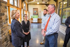 May 22, 2015 - Smuttynose Brewery in Hampton, New Hampshire (Hillary Clinton) Tags: unitedstates clinton newhampshire hrc nh hillary hampton campaign