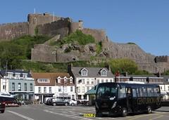 Castle MAN (Coco the Jerzee Busman) Tags: uk man bus truck islands coach explorer jersey midi channel centurion mobipeople