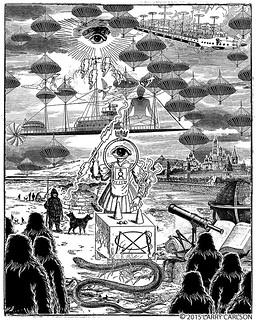 LARRY CARLSON, Astronomica 76, 2015.