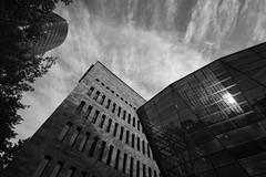 dirtmund (SBW-Fotografie) Tags: city windows sky blackandwhite bw building window monochrome architecture clouds canon cloudy fenster himmel wolken sigma stadt architektur sw monochrom schwarzweiss gebäude dortmund wolkig weitwinkel schwarzweis 70d canoneos70d canon70d
