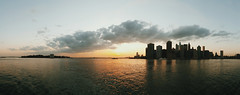 My sunset. (Explored) (Linh H. Nguyen) Tags: light sunset panorama newyork nature mobile skyline brooklyn clouds brooklynheights eastriver goldenhour explored galaxys6 s6edge