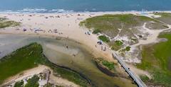 Ridgevale Beach at Chatham, Cape Cod (Chris Seufert) Tags: ocean bridge summer beach aerial vale ridge chatham cape cod drone ridgevale