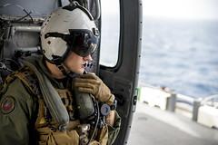 160713-N-VK310-011 (CNE CNA C6F) Tags: sailors landingcraft usnavy atlanticocean deployment lcac usswasp aircushion amphibiousassaultship 22meu amphibiousoperations 6thfleet wasparg