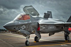 F35-B lightning (andyg1962) Tags: tattoo plane canon eos fighter jet fast lightning usaf fairford riat 60d f35b