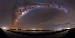 MilkyWay (Damin Avila) Tags: longexposure nightphotography sky canon stars landscape nightscape pano astrophotography cielo panoramica astrophoto milkyway 6d deepsky vialactea astrophotographer