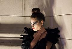Black Swan (Gabriela Rodriguez L.) Tags: monochrome portraits blackswan