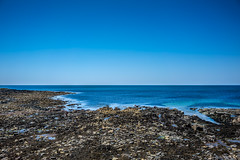 Kilmore Quay (Ailís Ní hÉgeartaigh) Tags: sea seascape landscape land rock rocks water ireland wexford world earth summer sunny sun bluesky blue sony a7 zeiss za 2016