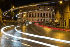 Roma by Night (6) (Yksel85) Tags: nikon rome roma italia piazzadispagna piazzanavona pantheon campidoglio colosseo teatromarcello foriimperiali imperoromano night bynight lungheesposizioni calcata gatto fontana sciee