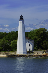 Welcome Light (joegeraci364) Tags: ocean new york sea lighthouse building history beach nature water architecture outdoors island coast marine long connecticut structure shore maritime sound nautical navigation