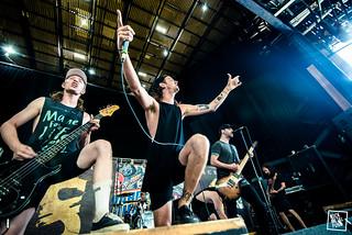 16.07.16 - SECRETS - Vans Warped Tour Columbia // Shot by Jake Lahah