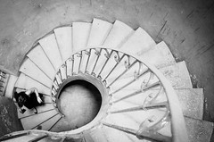 The stair of no return (MaxDeVa) Tags: stairs scale carceri lenuove 1123 leica leicat supervarioelmart torino f3545