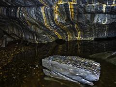 Marble cave (Fjllkantsbon) Tags: norge stripes cave marble striped grotta stripy nordtrndelag sapmi rnder northtrondelag evamrtensson marmorgrottan raentserenjohke ryrvikkommune