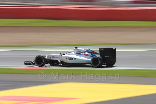 Valtteri Bottas in the 2016 British Grand Prix