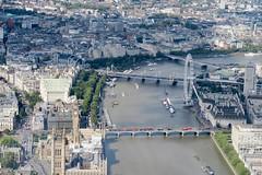 London Helicopter - View (Kieron Lawlor) Tags: london helicopter londonhelicopter housesofparliament londoneye