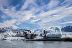 A slice of the ice (spwasilla) Tags: blue lake ice water alaska canon river glacier knik knikglacier canon6d tamron2470mm