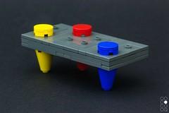 Knock Bank (Cole Blaq) Tags: brickart coleblaq lego legoart rgb art