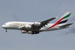 A6-EDL - LGW (B747GAL) Tags: emirates airbus a380 lgw gatwick egkk a6edl