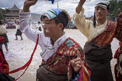 2016_Tibet_Flickr_2star-120 (arkienkeli) Tags: tibet repkong shaman festival tongren amdo