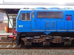 111 Side Detail (nathanlawrence785) Tags: nir ni railways antrim train station railway rail pw pwd permanent way ballast hopper gm 111 112 8111 siding