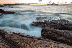 Ship to shore (Mick Fletoridis) Tags: sunrise longexposure seascape sydney australia sonyimages sonya7r2 rocks leefilters water coast