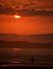 Praia De As Catedrais (xomorrotxoa) Tags: praia playa hondartza praiadeascatedrais ascatedrais lugo galiza atardecer ilunabarra itsasoa mare mar cantbrico kantauri nikon d3100 snapseed