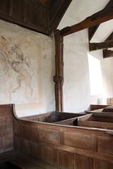 Disserth, Radnorshire (Vitrearum (Allan Barton)) Tags: disserth radnorshire church medieval boxpews georgianwoodwork royalarms roodscreen