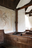 Disserth, Radnorshire (Vitrearum (Allan Barton)) Tags: disserth radnorshire church medieval boxpews georgianwoodwork royalarms roodscreen