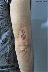 (RinzoTattoo) Tags: tattoo tatuagem tatuagens tatuagio tattooemsbc tatuagememsbc tattoofeminino sopaulo melhortatuador melhorestdiosbc tatuagemfeminina tattoofeminina abacaxi