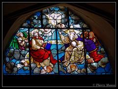 Vitrail de Jouarre (thierrymasson94) Tags: jouarre vitrail glise dieu gott god lord seigneur france