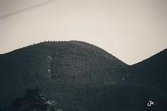 Castalla Noir (madferit_) Tags: montain noir negro blanco castillo alicante nikon