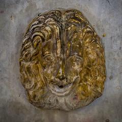 Volos lion (Eileen NDG) Tags: greece volos fountain lion