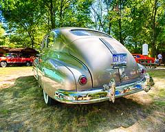 1948 Pontiac Silver Streak (hz536n/George Thomas) Tags: deeracres 2016 cs5 canon canon5d ef1740mmf4lusm michigan pinconning pontiac silverstreak summer carshow copyright linwood upnorth nik hdr