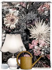 A certain smell of peppermint (plattlandtmann) Tags: flowers ipadart desaturation peppermint